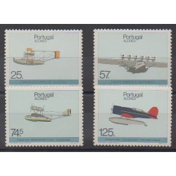 Portugal (Azores) - 1987 - Nb 375/378 - Planes