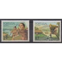 Portugal (Açores) - 1989 - No 393/394 - Histoire