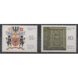 Portugal (Azores) - 1988 - Nb 385/386 - Coats of arms