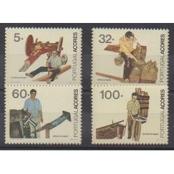 Portugal (Açores) - 1990 - No 401/404 - Artisanat ou métiers