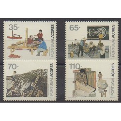 Portugal (Açores) - 1991 - No 407/410 - Artisanat ou métiers
