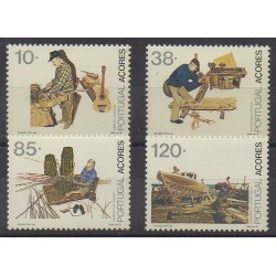 Portugal (Açores) - 1992 - No 416/419 - Artisanat ou métiers