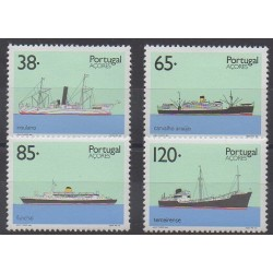 Portugal (Azores) - 1992 - Nb 420/423 - Boats