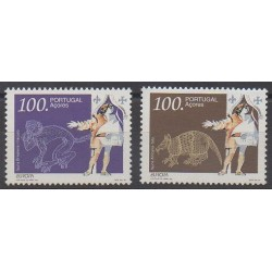 Portugal (Azores) - 1994 - Nb 436/437 - Europa