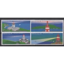 Portugal (Açores) - 1996 - No 447/450 - Phares