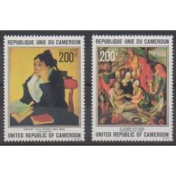 Cameroun - 1978 - No PA282/PA283 - Peinture