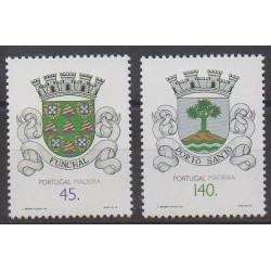 Portugal (Madère) - 1994 - No 183/184 - Armoiries