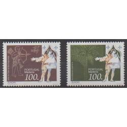Portugal (Madère) - 1994 - No 177/178 - Europa