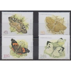 Portugal (Madère) - 1997 - No 194/197 - Insectes
