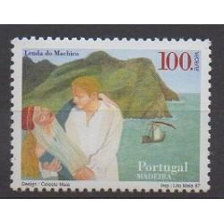 Portugal (Madeira) - 1997 - Nb 198 - Literature - Europa