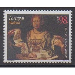 Portugal (Madeira) - 1996 - Nb 189 - Celebrities - Europa