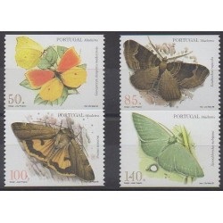 Portugal (Madère) - 1998 - No 200a/203a - Insectes