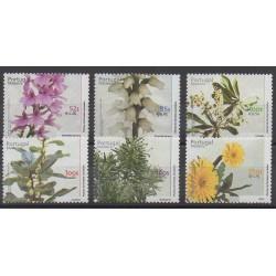 Portugal (Madère) - 2000 - No 212/217 - Fleurs