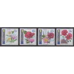Gibraltar - 2003 - Nb 1051/1054 - Roses