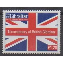 Gibraltar - 2004 - No 1106 - Histoire - Drapeaux