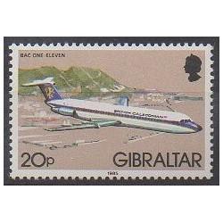Gibraltar - 1985 - No 505 - Aviation