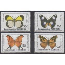Dominique - 1994 - No 1624/1627 - Insectes