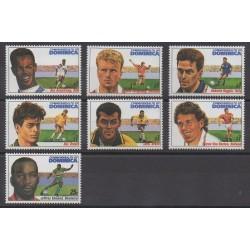 Dominique - 1994 - No 1644/1649 - 1727 - Coupe du monde de football