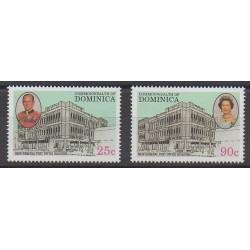 Dominique - 1993 - No 1536/1537 - Service postal