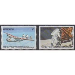 Dominique - 1993 - No 1527/1528 - Aviation