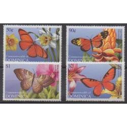 Dominique - 2004 - No 3028/3031 - Insectes