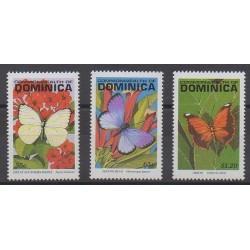Dominique - 1992 - No 1462/1464 - Insectes