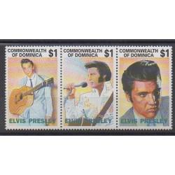 Dominique - 1992 - No 1483/1485 - Musique