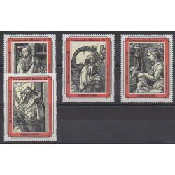 Dominique - 1993 - No 1600/1603 - Peinture