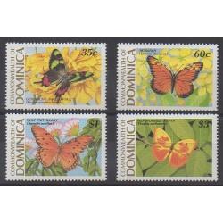 Dominique - 1989 - No 1121/1124 - Insectes