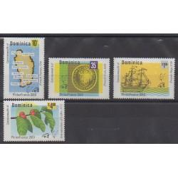 Dominique - 1989 - Nb 1096/1099 - Philately