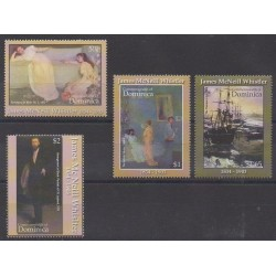 Dominique - 2004 - No 3060/3063 - Peinture
