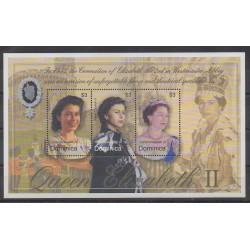 Dominique - 2003 - No 2945/2947 - Royauté - Principauté
