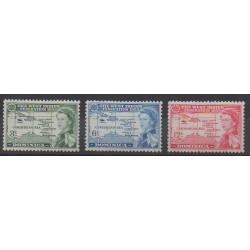 Dominique - 1958 - No 156/158 - Neufs avec charnière