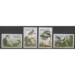 Dominique - 1986 - No 911/914 - Oiseaux