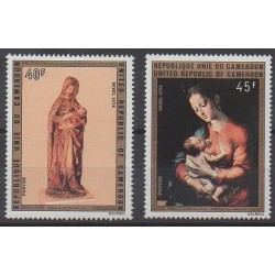 Cameroon - 1974 - Nb 577/578 - Christmas - Paintings