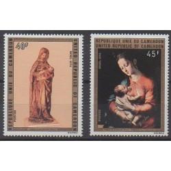 Cameroun - 1974 - No 577/578 - Noël - Peinture
