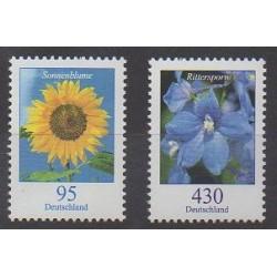 Allemagne - 2005 - No 2259/2260 - Fleurs