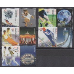 Allemagne - 2005 - No 2264/2268 - Sports divers