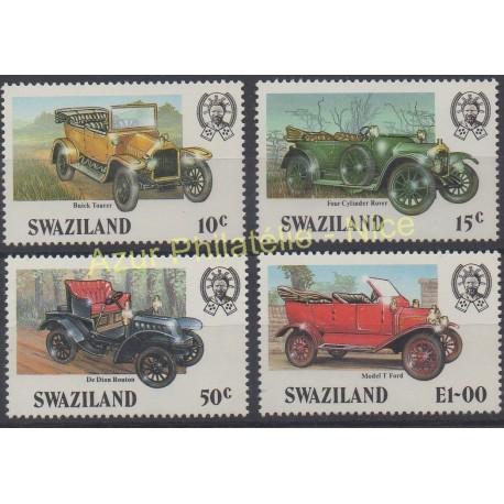 Swaziland - 1985 - No 486/489 - Voitures