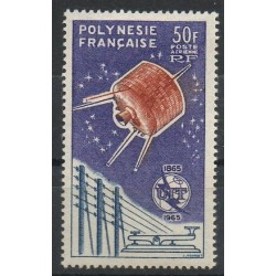 Polynesia - Airmail - 1965 - Nb PA10 - Espace