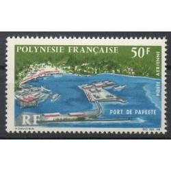 Polynésie - Poste aérienne - 1966 - No PA20 - Sites