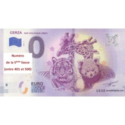 Euro banknote memory - 14 - Parc Zoologique Lisieux - 2019-4