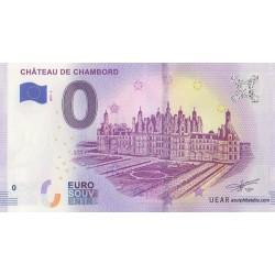 Billet souvenir - 41 - Château de Chambord - 2019-3