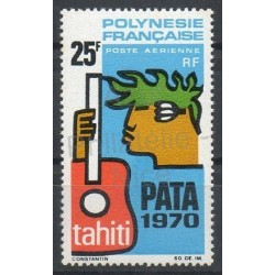 Polynesia - Airmail - 1969 - Nb PA28 - Music