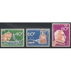 Polynesia - Airmail - 1968 - Nb PA22/PA24 - Various historics themes