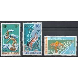 Polynesia - Airmail - 1971 - Nb PA48/PA50 - Sport
