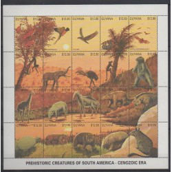 Guyana - 1991 - Nb 2384/2403 - Prehistoric animals
