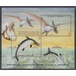 Saint-Thomas et Prince - 1982 - No BF34 - Animaux préhistoriques
