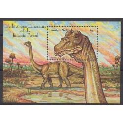 Antigua and Barbuda - 1992 - Nb BF222 - Prehistoric animals