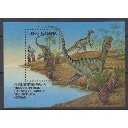 Ghana - 1992 - No BF189 - Animaux préhistoriques